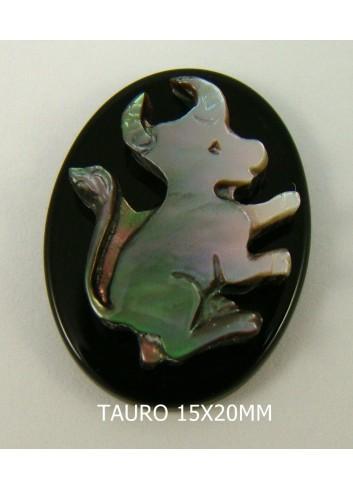 Tauro Ónix-Madreperla 15x20mm