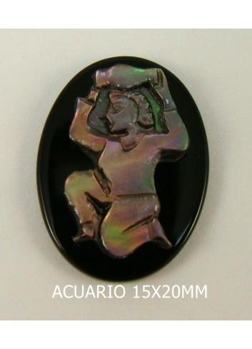 Acuario Ónix-Madreperla 15x20mm