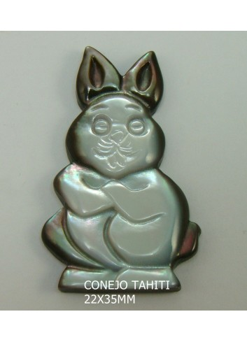 Conejo Tahití 22x35mm