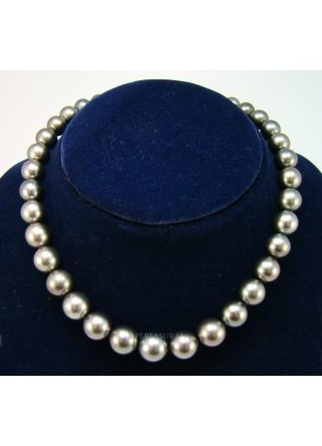 Collar Perla Tahití Redondo 10.1x13.1mm