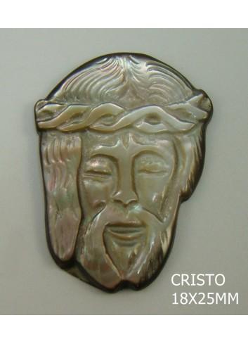 Cristo Tahití 18x25mm