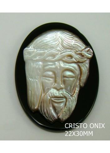 Cristo Tahití-Onix 22x30mm