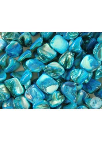 Hilo Madreperla Azul 12-14mm