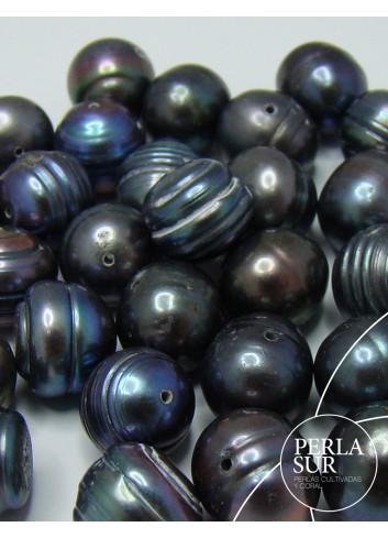 Perla barroca 8-8.5mm pasada peacock