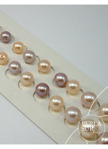 Perla esférica 4-4.5mm color natural